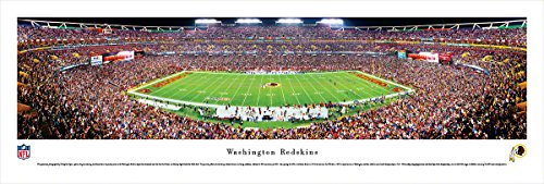 (Washington Redskins - 50 Yard - Night - Blakeway Panoramas Unframed NFL Posters)