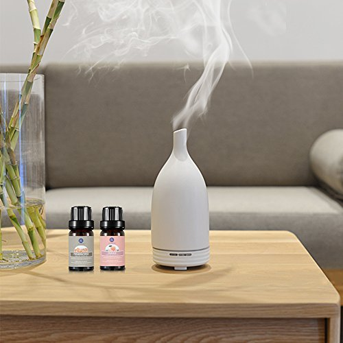 Top 8 Essential Oils Set,Pure Therapeutic Grade Aromatherapy Oils,Lavender,Eucalyptus,Lemongrass,Frankincense,Orange,Rosemary,Peppermint,Tea Tree Essential Oils by Lagunamoon (Image #2)