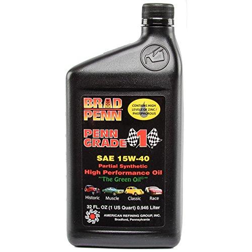 Brad Penn Oil 009-7158 15W-40 Racing Oil - 1 Quart Bottle High Strength 1 Qt Bottles