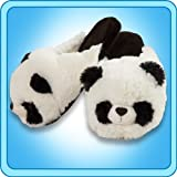 Pillow Pets Authentic Comfy Panda Slippers Medium Toy Gift - check size chart