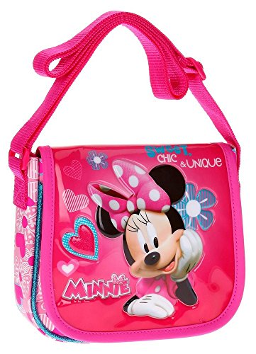 Disney Minnie Fabulous Borsa Messenger, 17 cm, 1.02 liters, Rosa