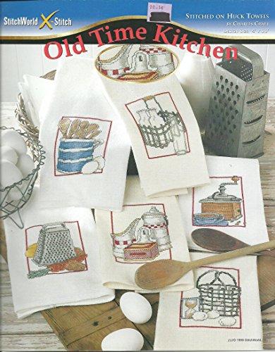 (StitchWorld X-Stitch Chart 03-247: Old Time Kitchen Stitched on Huck)