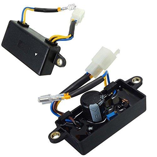 Li Bai AVR Automatic Voltage Regulator for Generator 2kw 2.2kw 2.5kw 2.8kw 3kw Petrol Single Phase ()