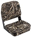Wise Hunting/Fishing Low Back Fold-Down Seat, Realtree Max 5 Camo