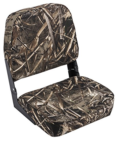 Wise Hunting/Fishing Low Back Fold-Down Seat, Realtree Max 5 Camo by Wise (Image #1)
