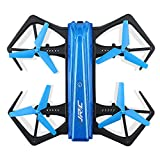 Besde Expedited Clearance JJRC H43WH Foldable Mini RC Helicopter Drone 2.4Ghz 6-Axis Gyro 4 Channels WiFi FPV Quadcopter with 720P Camera for Aerial Photography