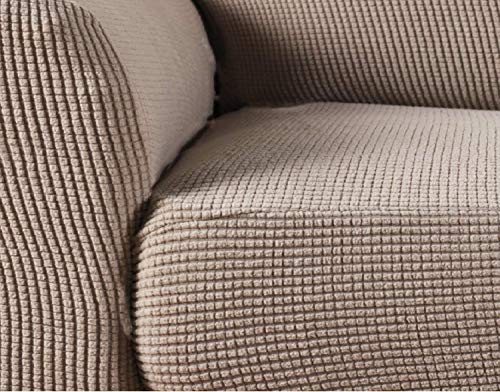 SHELY Sofa Stretch Slipcover Stretch Jacquard Sofa Couch 1 Pieces Knit Polyester Sofa Slipcovers