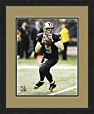 "NFL New Orleans Saints Dree Brees, Beautifully Framed and Double Matted, 18"" x 22"" Sports Photograph"