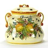LIMONI FONDO MIELE + API: Biscotti Jar [#X9155/G-LFM]