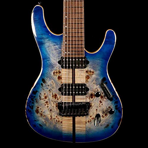 Ibanez Premium S1027PBF - Cerulean Blue Burst for sale  Delivered anywhere in USA