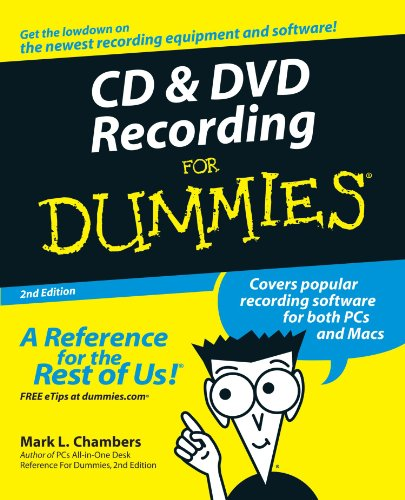Price comparison product image CD and DVD Recording For Dummies