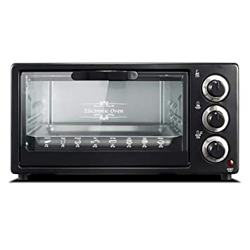Freshvine 15L Mini Ovens Black para Pastel, Pizza, Alitas De Pollo ...
