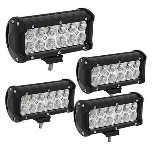 Cheapest Led Light Bar Hot sale led light bar yintatech 4pcs 7inch 36w led spot light pods hot sale led light bar yintatech 4pcs 7inch 36w led spot light pods off road driving work light fog drl bulb 3600lm super bright for truck jeep cabin suv audiocablefo