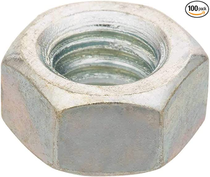 Amazon Com Everbilt 801730 1 4 In 20 Zinc Plated Hex Nut Pack Of 100 Home Improvement