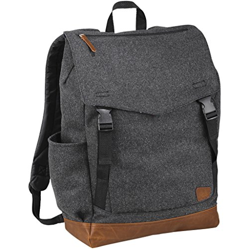Field & Co. Campster 15in Backpack (13 x 4.9 x 17.7 inches) (Heather Charcoal)