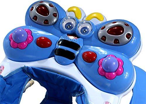 Andador para beb/és regulable en altura con juguetes y sonido ARTI mariposa 12R funcional cuna verde