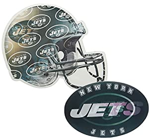 Jets Ultra-Depth 3-D Magnet Locker Sized And Magnetized (Helmet & Logo)