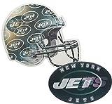 Jets Ultra-Depth 3-D Magnet Locker Sized And Magnetized (Helmet & Logo)