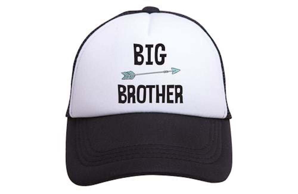 TINY TRUCKER Toddler Size - Big Brother Trucker Hat OP-TB0003-BW