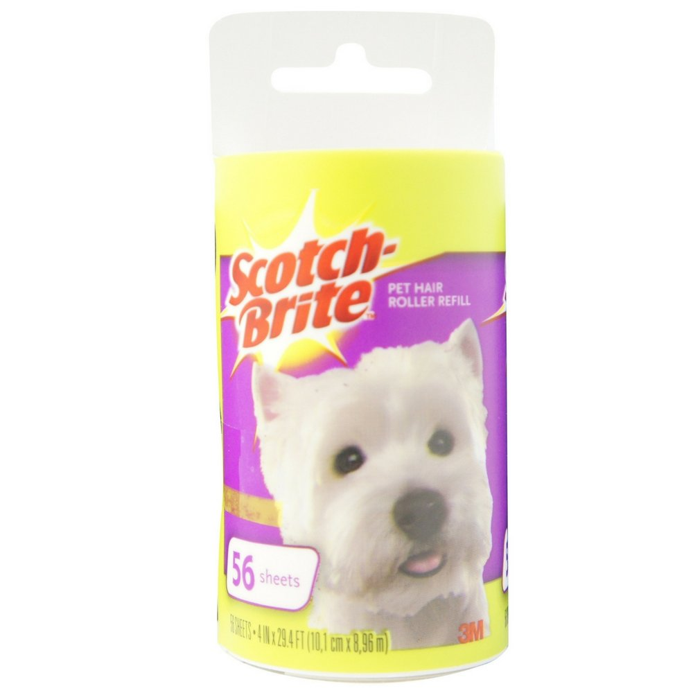 Scotch-Brite Pet Hair Roller Refill 1 ea (Pack of 12)