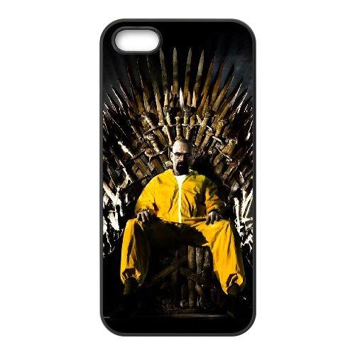 Breaking Bad Game Of Thrones I8F18R8VQ coque iPhone 4 4s case coque cover black IYNCGI