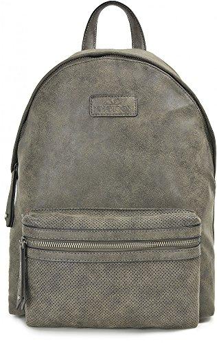 MIYA BLOOM, mochilas, bolsos, bolsas de ocio, 31 x 38 x 14.5 cm (AN x AL x pr), color: arena antracita
