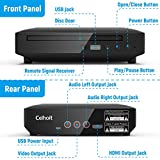 Mini DVD Player, DVD CD/Disc Player for TV with