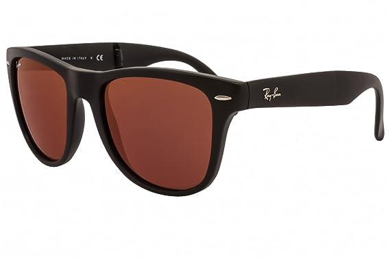 3010c5eaa7b Ray-Ban Sunglasses RB4105 Wayfarer Folding Classic 601S2K  Amazon.co.uk   Clothing