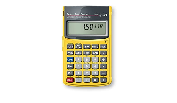 Calculated Industries Inc 8528 ProjectCalc Plus MX