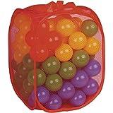 DIVERGARDEN Bolsa 100 Bolas 7cm de Colores  Amazon.es  Juguetes y juegos 9727dc610d3c5
