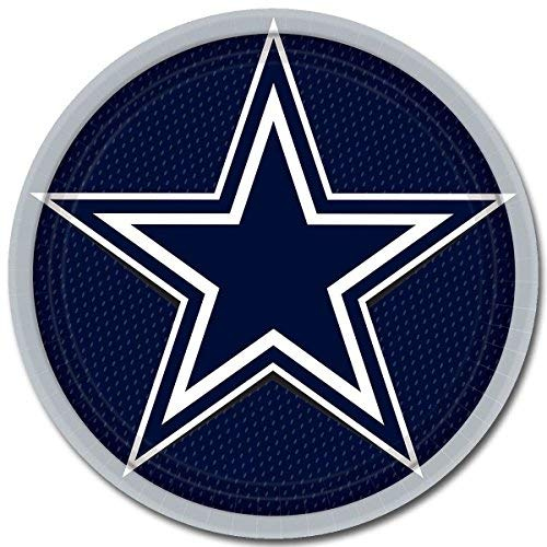 Amscan Dallas Cowboy NFL Football 9