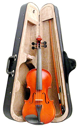 Kay KV75 Handmade Violin/Fiddle Complete Outfit 3/4 Size with Violin, Bow, Case, Chin Rest, Fine Tuners and Rosin. by Kay