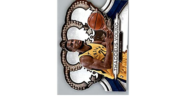 Amazon.com: 2018-19 Panini Crown Royale #190 Thaddeus Young NM-MT Indiana Pacers Official Licensed NBA Trading Card: Collectibles & Fine Art