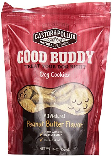 Castor & Pollux AS-18975-2 Peanut Butter 16 oz (Pack of 2) Good Buddy Dog Cookie
