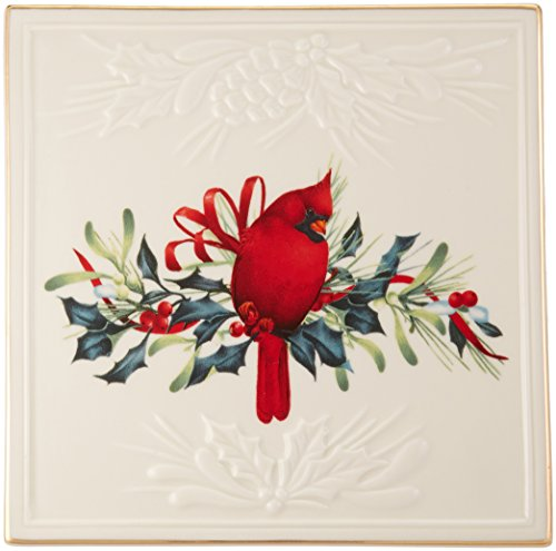 - Lenox Winter Greetings Carved Trivet