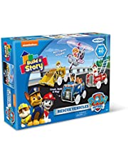 Build A Story Paw Patrol Rescue VEHICLES Building Playset, Multi-Color