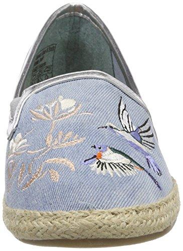 Tailor Tom 4892002 Blau Espadrilles Femme ltblue qZPzZfndxw
