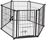 "Carlson Pet Products 0470 28""X144"" Super Wide Heavy Duty Gate and Pet Pen"