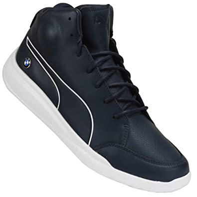Puma - BMW MS Casual Mid - 30599001 - Color  Navy Blue - Size  11.5  Amazon. co.uk  Shoes   Bags be77d36f8