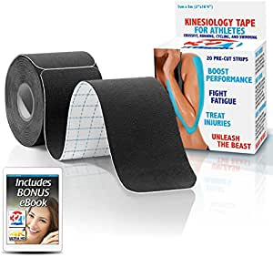 321 STRONG Kinesiology Tape - Black