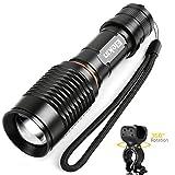 Taschenlampe 1000 Lumen Wasserdichte 360-Grad Fahr...
