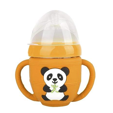 Biberón, Panda de dibujos animados Biberones para bebés que ...