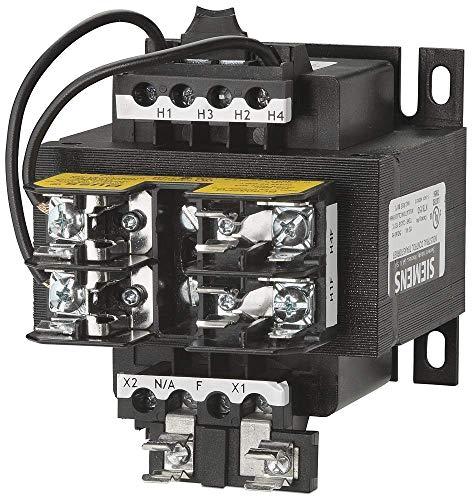 Siemens MT0150M Industrial Power Transformer, Domestic, 240 X 480 Primary Volts 50/60Hz, 120 X 240 Secondary Volts, 150VA Rating