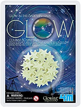 60-Pk. 4M 5143 Glow-In-The-Dark Mini Stars