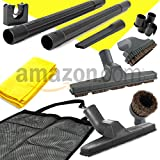Generic 10-Piece Deluxe Central Vacuum Cleaning Tools Accessory/Attachment Set