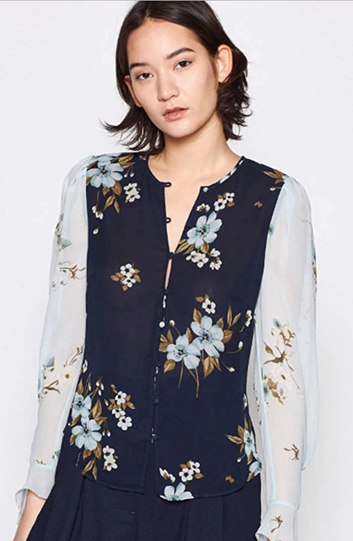 Joie Abboid Printed Blouse