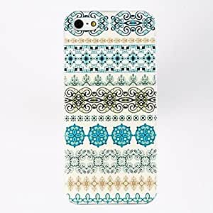 JJESpecial Design Pattern Porlycarbonate Hard Cases for iPhone 5/5S , Multicolor