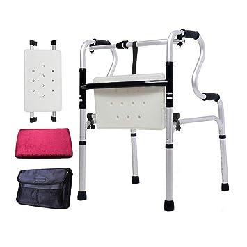 GX-Wheelchair Flip Bloque Asiento Bañera de Andador Paleta ...