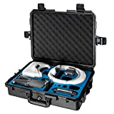 Ultimaxx Water Proof Rugged Compact Storage Hard Case for DJI FPV VR Goggles & DJI Mavic 2 Pro/Zoom + Fits Extra Accessories