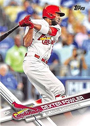 e31b97651 2017 Topps Series 2  446 Dexter Fowler St. Louis Cardinals Baseball Card